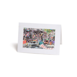 Card 5 Pack x Bobby Kyriakopoulos 'Race track'