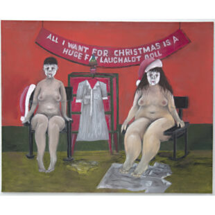 Wicked teenage school girls in rocking chairs in nude for Christmas going back to December 1981